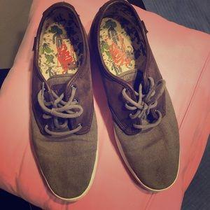 Vans, leather and canvas shoes sz 11